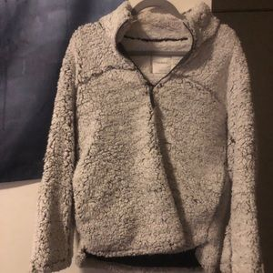 Fuzzy pullover!